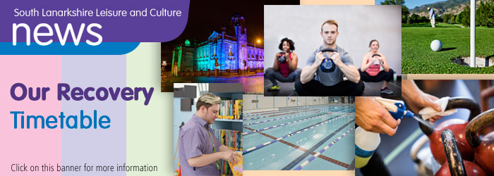 South Lanarkshire Leisure and Culture opening near you soon