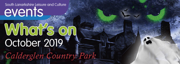 What's On October 2019 at Calderglen Country Park