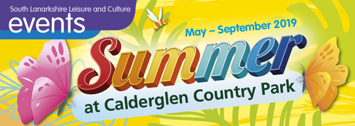 This Summer at Calderglen Country Park
