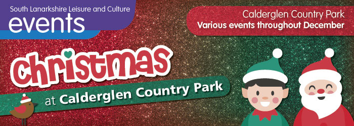Christmas at Calderglen Country Park