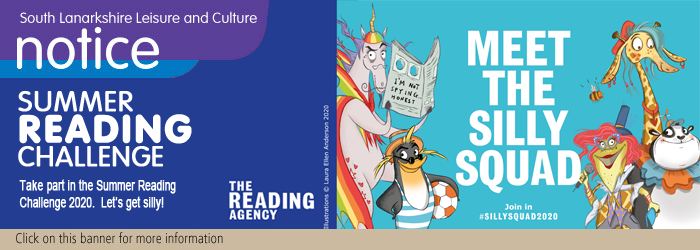 Silly Squad - The Summer Reading Challenge Is Here!! At South Lanarkshire Leisure and Culture Libraries Slider image