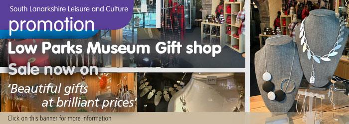 Low Parks Museum shop