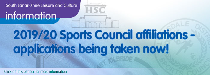 South Lanarkshire Sports Council Affiliations 2019-2020