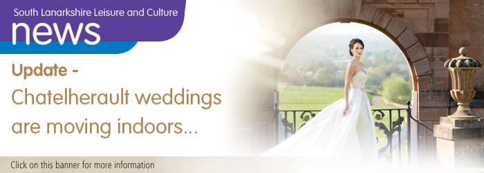 Restart of wedding ceremonies at Chatelherault Country Park Slider image