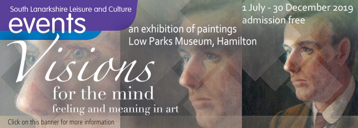 Visions for the Mind exhibition at Low Parks Museum