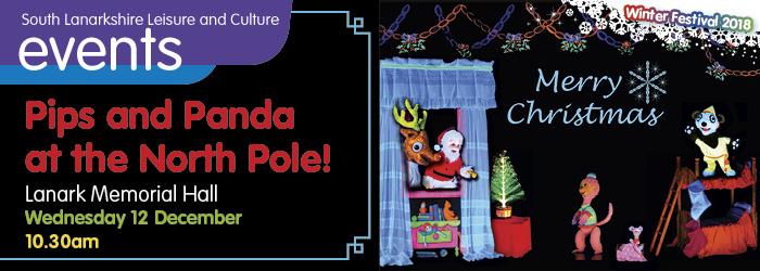 Pips and Panda at the North Pole!