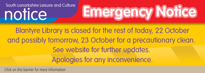 Blantyre library temporary closure Slider image
