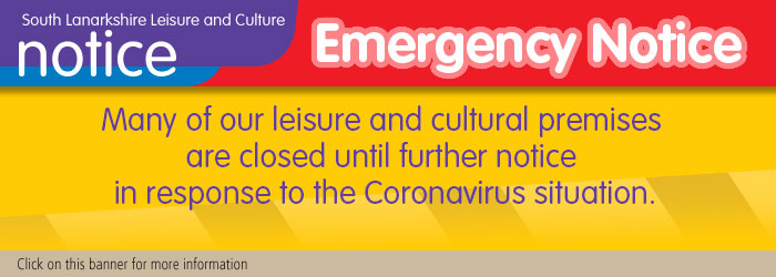 Many of SLLC leisure and cultural premises are closed until further notice due to Coronavirus situation Slider image