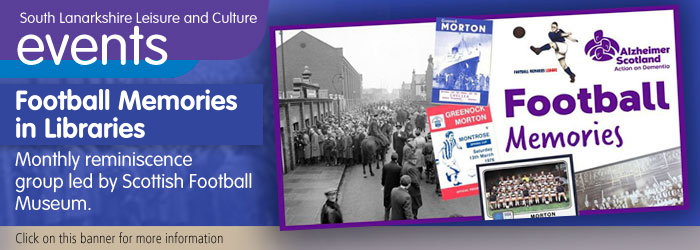 Football memories in South Lanarkshire libraries