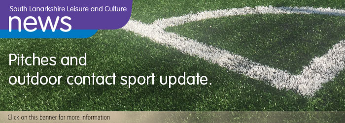 Pitches and outdoor sport update