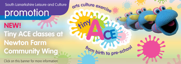 Tiny ACE classes at Newton Farm Community Wing