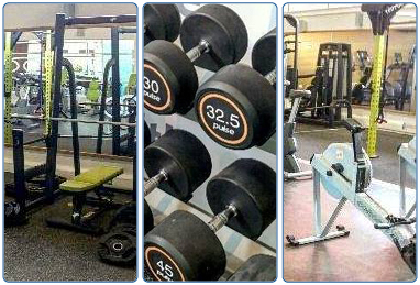 The Club fitness studio at South Lanarkshire Leisure and Culture Lanark